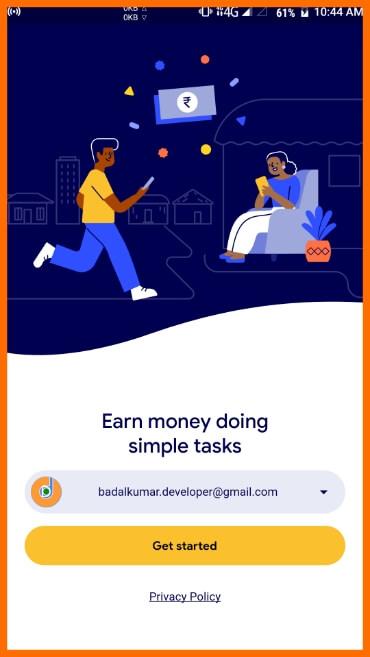 Install Google Task Mate App  Step 2
