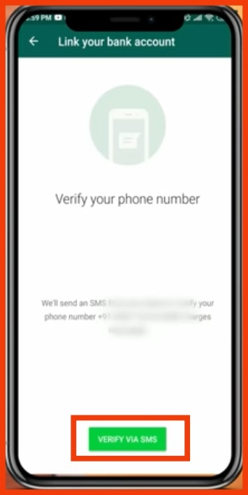 WhatsApp Payment step-4