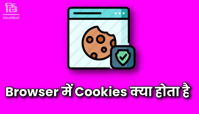 browser me cookies kya hota hai