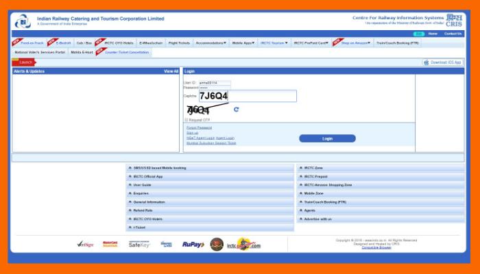 IRCTC में Account कैसे बनाये | आईआरसीटीसी का यूजर आईडी कैसे बनाएं